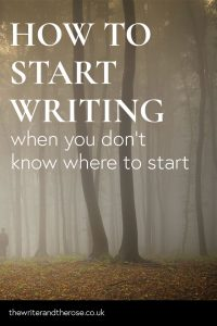 Stuck on how to start writing? Whether it's getting your bum in the chair, or knowing what the hell to write about, you're not alone.